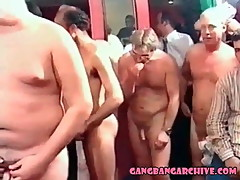 Gangbang Archive Euro orgy Real amateurs swap