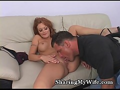 Redheaded Wife'_s Pussy Pounded
