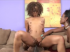 MISTY STONE MAKES BF WATCH HER SHARE BBC WITH OLIVIA WINTERS