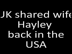 UK shared wife Hayley back in the USA