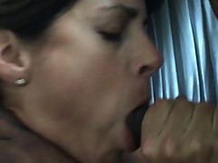 Ex-wife Maria sucks my friend's cock