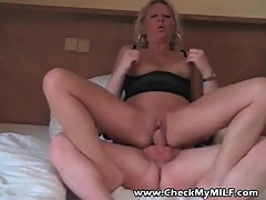Check my MILF Sexy mature getting her ass and pussy filled