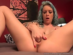 Jeze Belle Shares A Cock With Husband And He Eats Cum