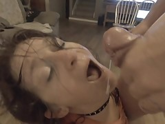 For Mary Ann, Sharing is Caring! Slut Wife Covered in Cum