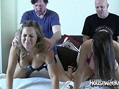2 Hot Wives getting new Dick 2