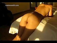 Sexy White MILF fucked and cumshoted by BBC and Husband on Realwives69.com